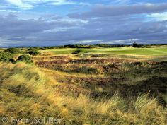 April 2014.  The Old Course at St. Andrews Links, Fife, Scotland.