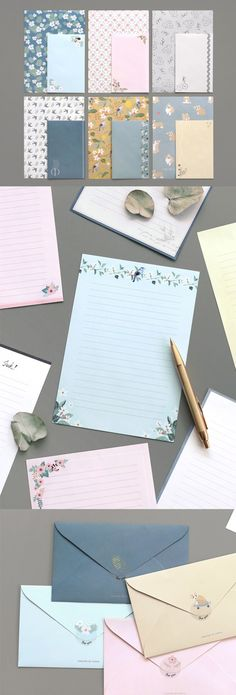 In these days of Social Networking and Emails, try and send a meaningful letter with the Pattern Letter Set v2! This set includes cute and colorful letter sheets and envelopes, which both you and your recipient would adore!