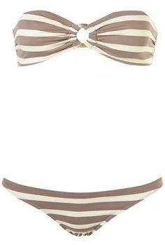 Topshop Laguna Stripe Bikini