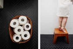 Herringbone tile | Inspiration - Renovation - Muse & Maker