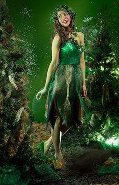 Kostenlose Anleitung: Waldfee Kostüm selber nähen