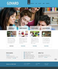 Online Education WordPress Themes by Delta