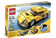 Creator Collection 4939: Cool Cars (3 in 1)