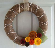 DIY Wreaths are the prettiest! My goal of the week!