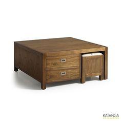 Table basse et poufs Katanga | krea