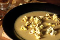 Beer cheese soup is popular in the midwest. Amber beer and cheddar cheese flavor the soup and give it body. Use a quality beer and freshly grated cheese.
