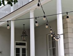 Simple can be elegant. Café lights are an easy way to light up an indoor or outdoors space. Contact us today and get a design made up specifically for your event!   #cafelights #lightingdesign #Charleston #iesproductions #eventservices