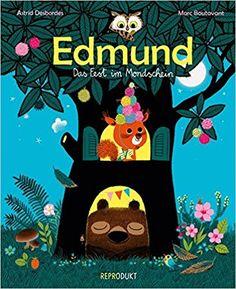 »Edmund: Ein Fest im Mondschein« von Marc Boutavant (ill.) & Astrid Desbordes (text), Ulrich Pröfrock (trans.)