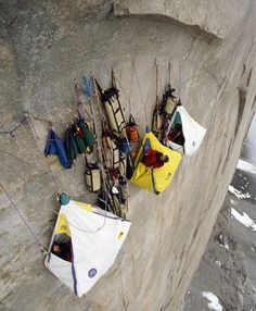 Extreme Camping. Wow lol