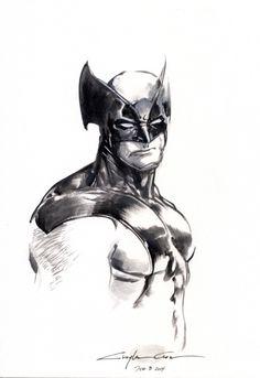 Wolverine by Clayton Crain *