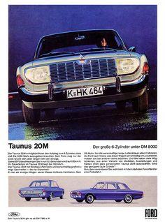 Ford Taunus (1965) 20M P5 Der große 6-Zylinder unter DM 8000