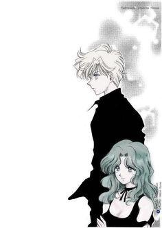 Sailor Uranus, Sailor Neptune, Sailor Moon Art, Sailor Moon Crystal, Anime Manga, Anime Art, Sailor Moon Aesthetic, Cute Anime Coupes, Sailor Scouts
