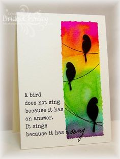 Watercolor Block Background by bfinlay - Cards and Paper Crafts at Splitcoaststampers