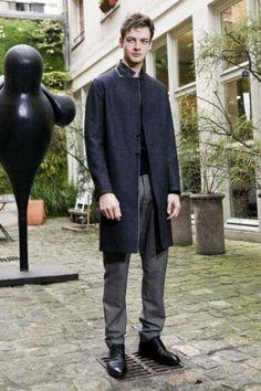 Cool coat - Gustavo Lins Fall Winter Menswear 2012