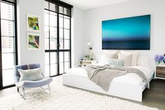 Home Stalking! 30 Cool NY Rooms #refinery29  http://www.refinery29.com/55136#slide25  Feel BlueBlue is immediately zen, but also powerful in the home. Consider pops of cerulean, muted blue, and navy as a strong accent.