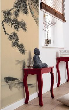 """""""V2-762 Koi"""" - A view to the Far East – an oasis for mind relaxation (Komar Products)"""