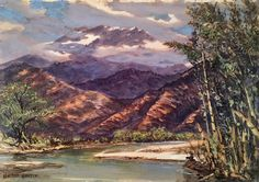 Sierra Nevada De Madre painting by W. Harold Hancock