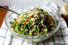 broccoli rubble farro salad – smitten kitchen