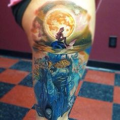 amazing little mermaid tattoo