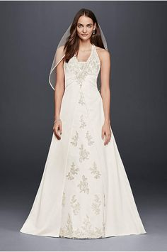 Take our wedding dress quiz to find the perfect wedding dress for you! Pick your style, neckline and body type to discover stunning bridal gown options from David's Bridal! Wedding Dress Quiz, Blue Wedding Dresses, Formal Dresses For Weddings, Wedding Dresses For Sale, Bridal Dresses, Formal Wedding, Wedding Ideas, Wedding Stuff, Wedding Shit