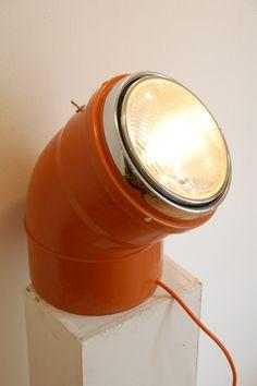 Lampe réalisée avec un coude pvc déco DIY