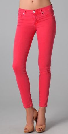 Stylmee - Hudson Nico Mid Rise Super Skinny Jeans $154  #3 from our Top 10 Styles of the Week!  #fashiongame #fashion