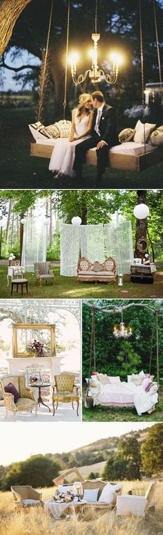 Oh Snap! 45 Creative Wedding Photo Backdrops - Styled Photo Area!
