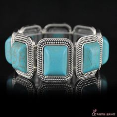 on sale free shipping Europe America style Fashion bohemia exquisite all-match turquoise  fashion gem elastic rope bracelet - http://www.aliexpress.com/item/on-sale-free-shipping-Europe-America-style-Fashion-bohemia-exquisite-all-match-turquoise-fashion-gem-elastic-rope-bracelet/32392550677.html