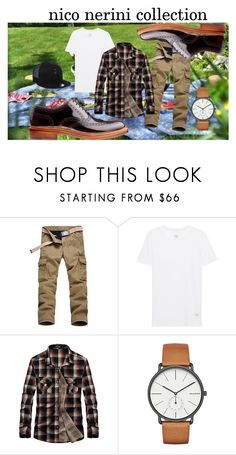 """tu cosa fai a Pasquetta?"" by nico-nerini on Polyvore featuring rag & bone, Skagen, New Era, men's fashion e menswear"