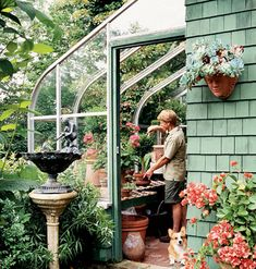 I need a greenhouse like this to grow food in during the winter monthes