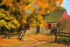 The Wick House (1750) in Jockey Hollow  Morristown National Historic Park