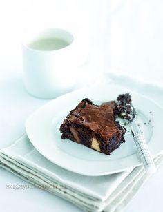 magazyn: Łaciate brownies
