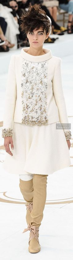 Chanel Fall-winter 2014-2015.hc #wedding #weddingdress