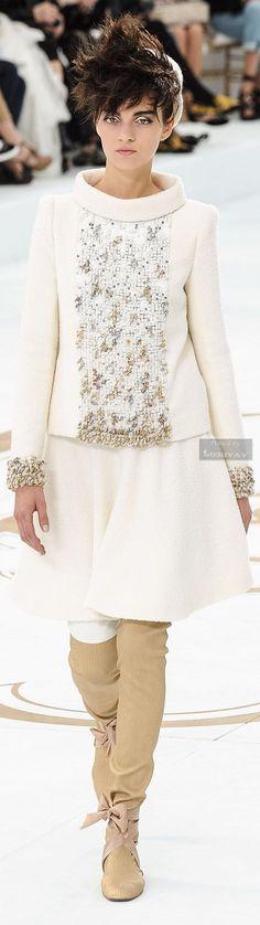 Chanel Fall-winter 2014-2015.hc #wedding #weddingdress