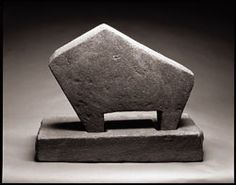 """William Edmondson """"Critter"""" The first African-American artist to have a solo exhibition at the Museum of Modern Art (in 1937)"""