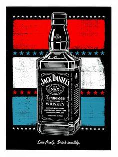 BOTTLE - Jack Daniel's Whisky Outdoor Advert