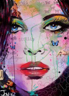 "Saatchi Art Artist Loui Jover; Drawing, ""reckless"" #art"