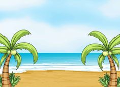 View album on Yandex. Beach Background, Landscape Background, Animation Background, Christian Backgrounds, Powerpoint Background Design, Class Decoration, Borders And Frames, Marianne Design, Landscape Illustration