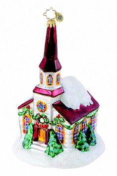 Trinity Church Christopher Radko Ornament 1015114