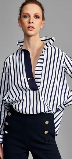 Japan Fashion, Fashion 2018, Fashion Outfits, Womens Fashion, Cooler Look, Fashion Details, Fashion Design, Classy And Fabulous, Carolina Herrera