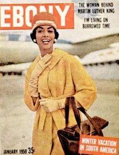 Ebony Magazine 1958 the year I was born Jet Magazine, Black Magazine, Life Magazine, News Magazines, Vintage Magazines, Vintage Ads, Ebony Magazine Cover, Magazine Covers, Vintage Black Glamour