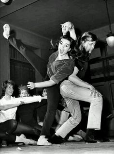 Christopher Walken and Liza Minnelli rehearsing the Broadway musical 'Best Foot Forward' in 1963. Photograph: Rex Feature/Everett Collection