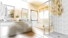 Vanities are an essential part of the bathroom. Depending on the space you have, you … Old Furniture Pieces You Can Turn Into a Bathroom Vanity Read Bathroom Drawing, Master Bathroom, Bathroom Vanities, Slip And Fall, Old Furniture, Paint Brushes, Vanity, Real Estate, Bone Density