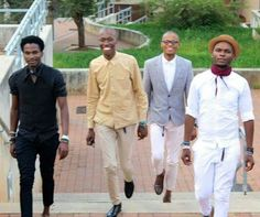 Mandla Duch Thabethe, Mpho Rox Modise, Austin Powers, Luvo Jovis Maqungo, Project inflamed fashion