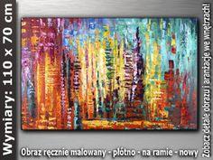 OBRAZ nr AB427 110x70 cm Obrazy olejne i akrylowe