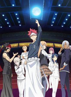 The official website of the anime adaptation of Yuuto Tsukuda and Shun Saeki's Shokugeki no Souma (Food Wars: Shokugeki no Soma) manga has revealed a new. Anime In, Anime Shows, Anime Love, Manga Anime, Anime Stuff, Anime Eyes, Awesome Anime, Otaku, Vocaloid