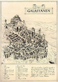 Galastanen Map
