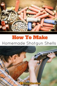 How to make homemade shot gun shells for emergency preparedness. Learn how to make your own ammo for your shotgun when supplies run out. | Posted by: SurvivalofthePrepped.com Survival Life Hacks, Survival Weapons, Survival Supplies, Survival Knife, Survival Prepping, Emergency Preparedness, Survival Gear, Survival Skills, Homestead Survival