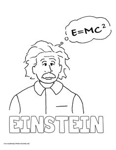 World History Coloring Pages Printables Albert Einstein.
