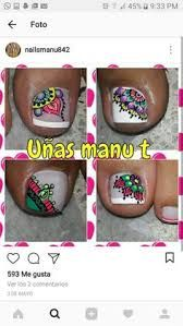 Resultado de imagen para uñas decoradas pies Toe Nail Art, Acrylic Nails, Mani Pedi, Manicure, Wonder Nails, Summer Toe Nails, Magic Nails, Bright Nails, Toe Nail Designs